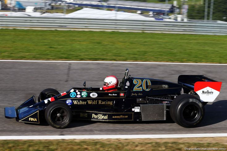 GP AUSTRIA, 21.06.2014- Hans Binder is reunited with his Wolf-Williams FW05.
