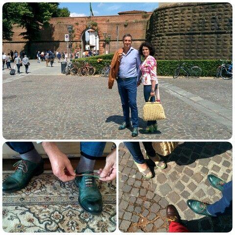 Primo giorno al Pitti - Bespoke handmade shoes Antonio Parrotto