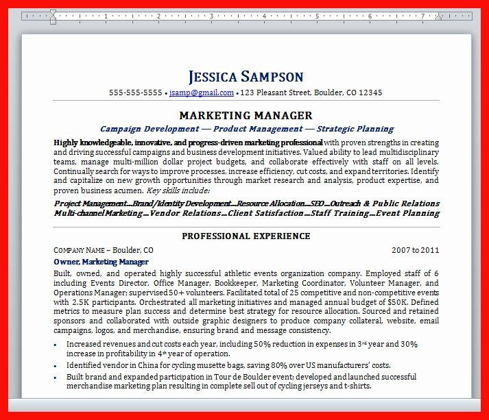 Plain Text Resume Example Unique Copy Paste Resume Format Resume Examples Good Resume Examples Resume