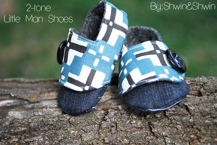 Baby boy shoe tutorial!! I don't know if I'm this talented, but I sure do love them!