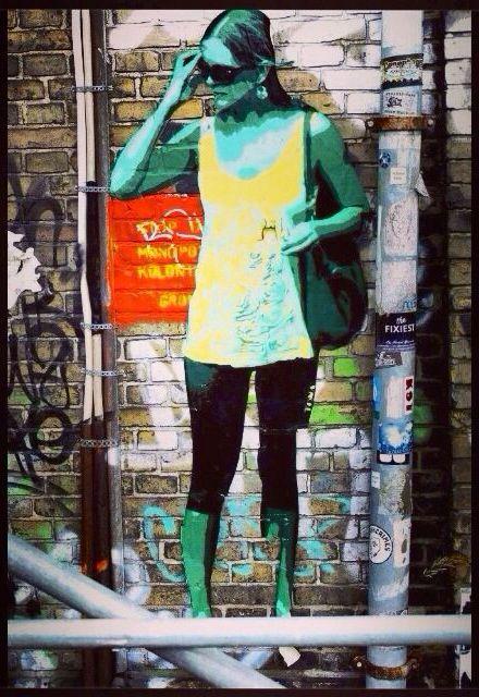 Street art. Graffiti. Art. Urban.