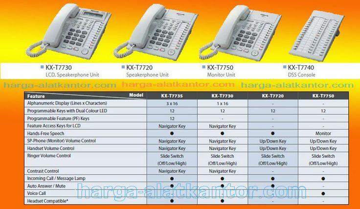 Harga Telephone Pabx Panasonic