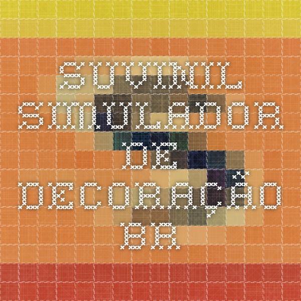 Suvinil - Simulador de Decoração - BR