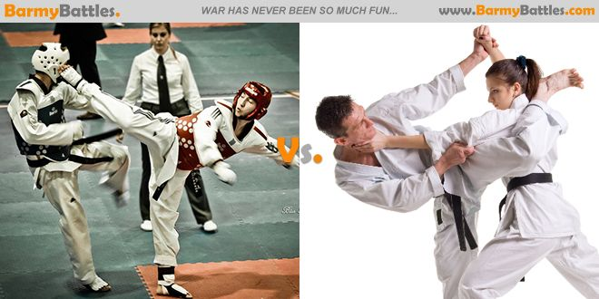 Taekwondo vs Karate. Which of this two well-known styles karate ...