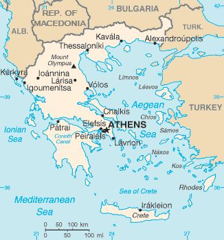 184 best maps of greece images on pinterest ancient greece cards greece map gumiabroncs Gallery