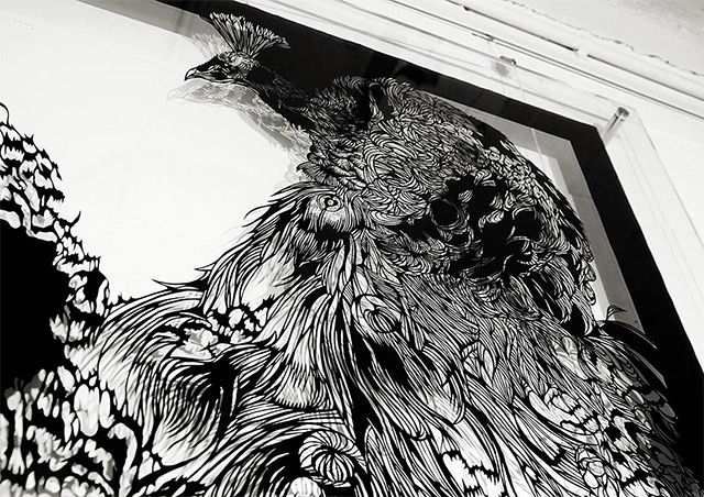 Sculptures Hand Cut from Single Sheets of Paper by Nahoko Kojima