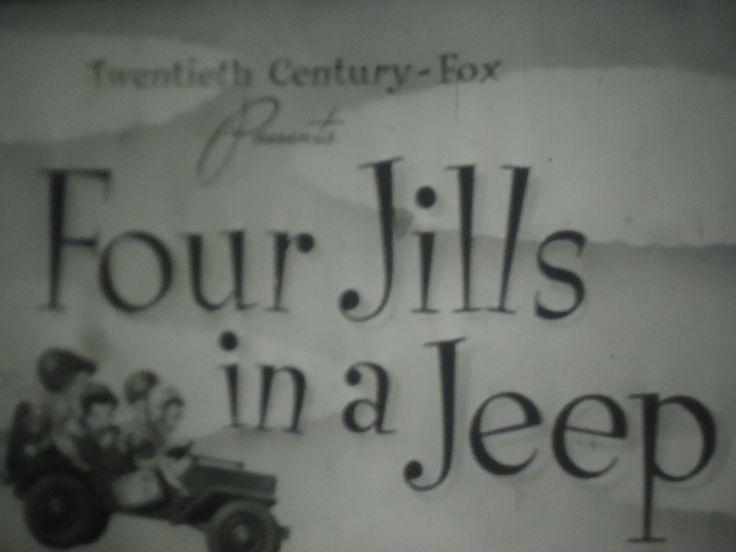 16mm Four Jills in a Jeep Carole Landis Martha Raye Kay Francis Mitzi Mayfair