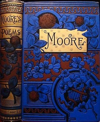 Moore's Poems by Thomas Moore Beautiful binding