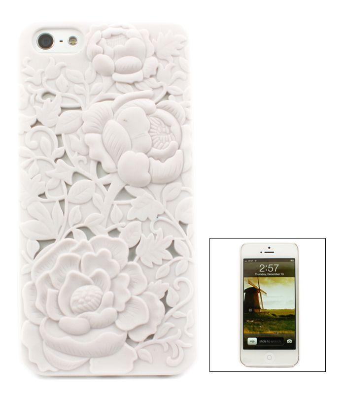 White Chrysanthemum iPhone Case