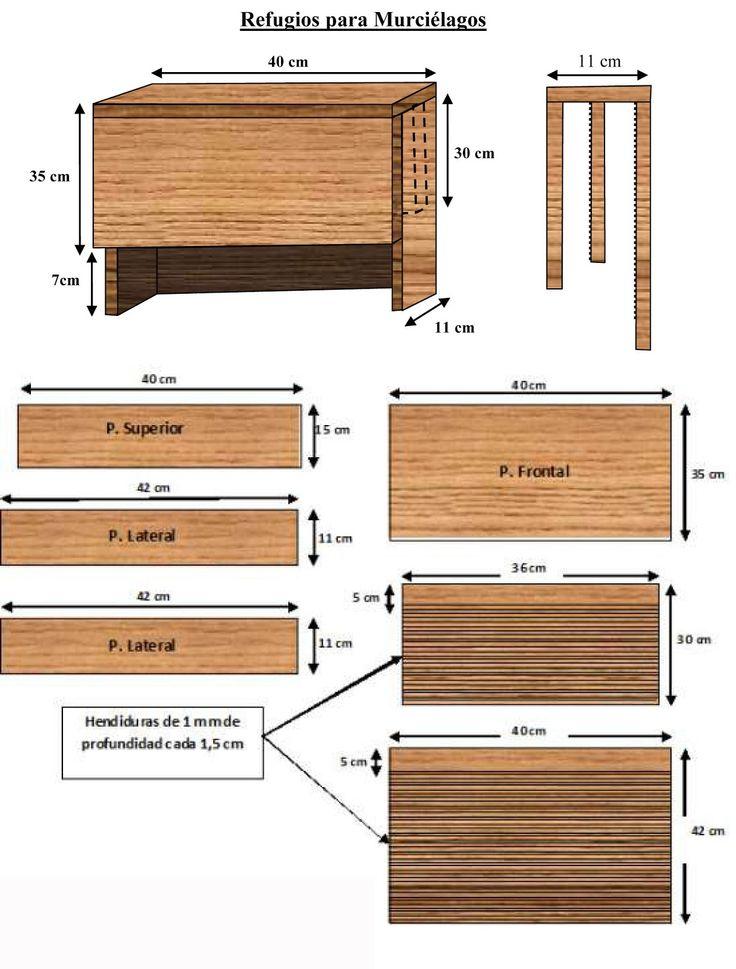Mejores 10 im genes de cajas nido en pinterest cajas for Manual de construccion de albercas pdf
