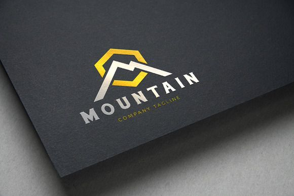 Mountain Logo by Super Pig Shop on Creative Market