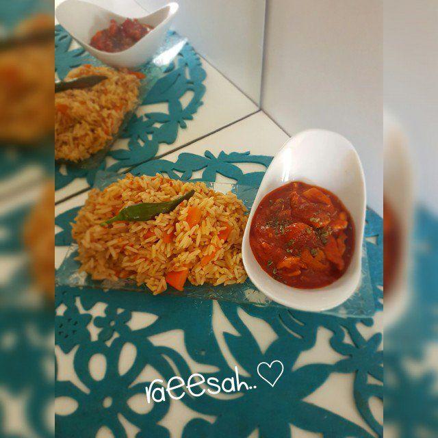 Chinese Chillie Chicken & Chinese Fried Rice