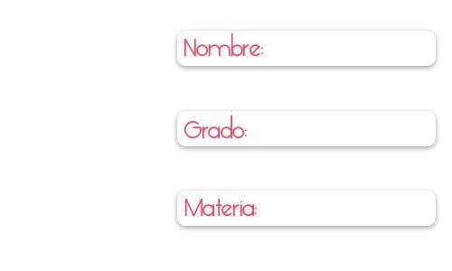 etiquetas escolares - Buscar con Google