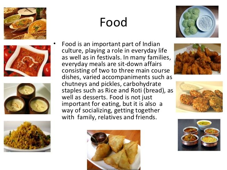 Indian Culture and Food | Indian food, culture,traditions and their role in ...