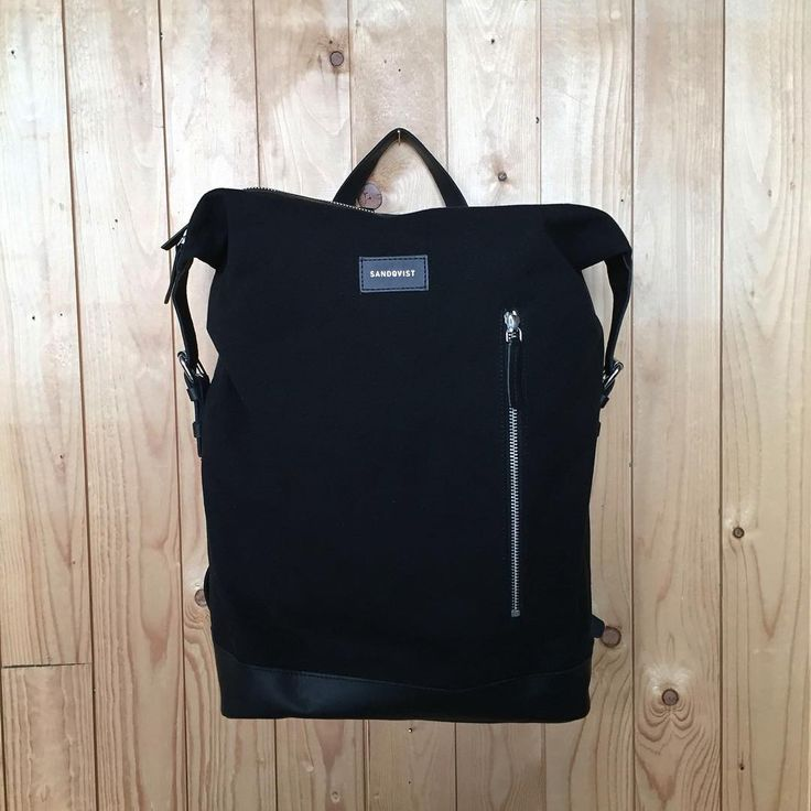 Backpack in canvas and leather 29 x 48 x 15 cm ~20 L