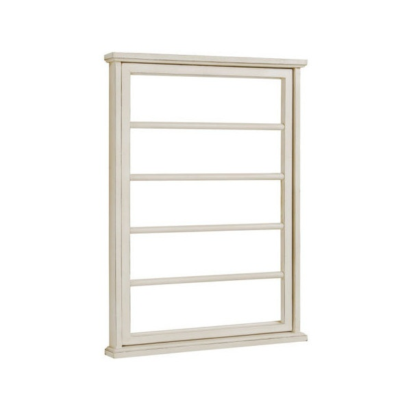 White Wood Towel Rack Miscellaneous Furniture For