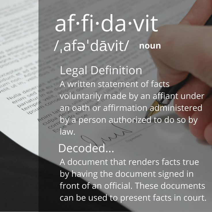 What is DECODED? NO TO CORRUPTION, STRESS FREE FOR ALL COMPANY - affidavit statement of facts