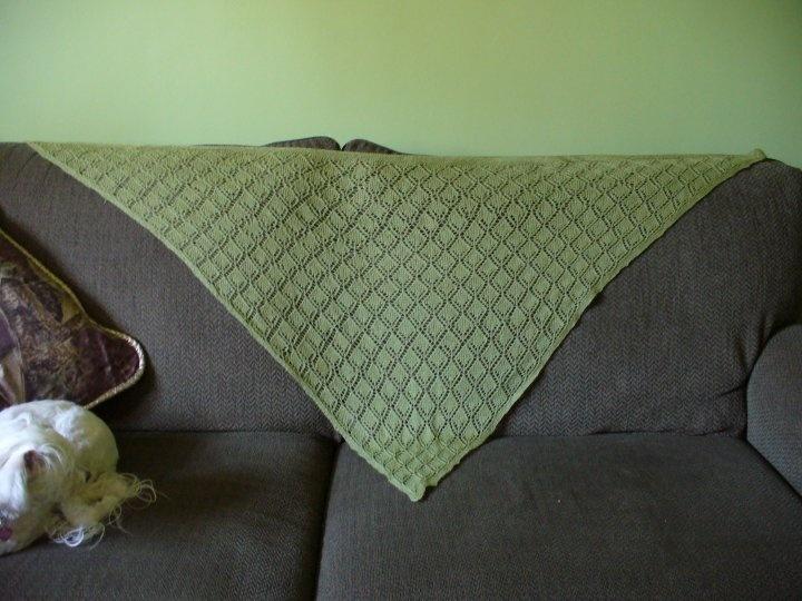 My fist lace shawl