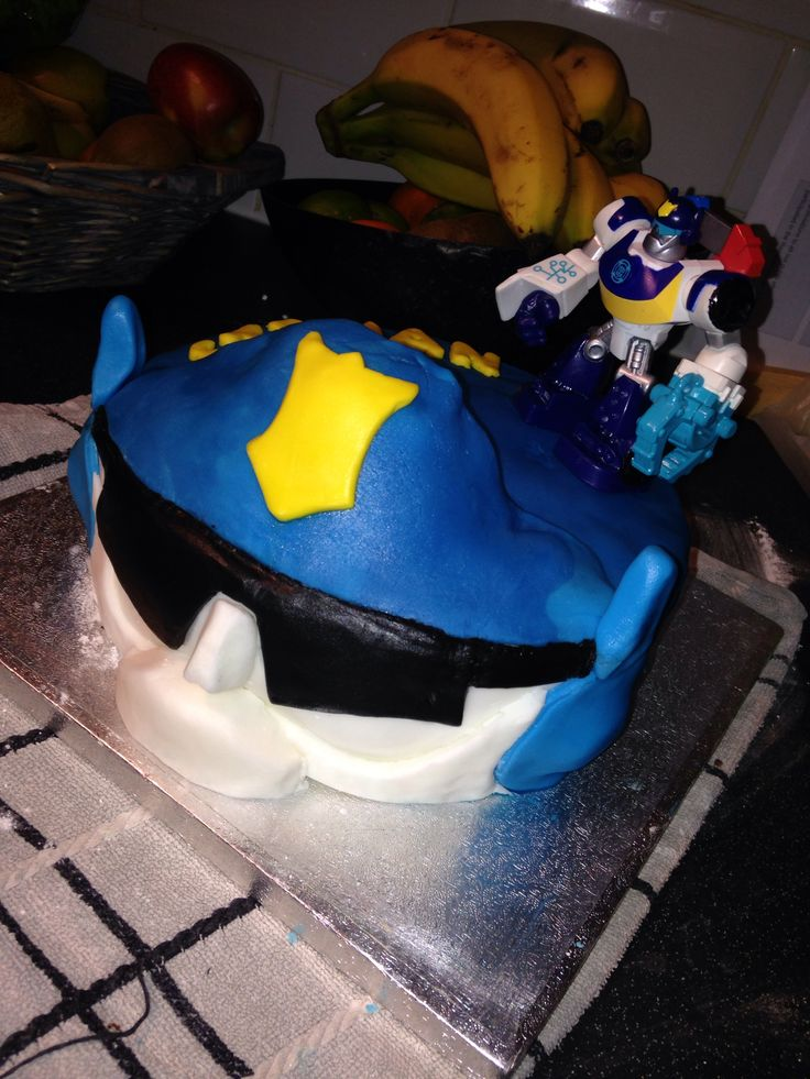 Rescue Bots Transformers Cake Ideas 45281 Transformers Res