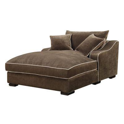 Caresse Fabric Chaise Lounge. $927.00 at way fair.com. Love the sofa too!