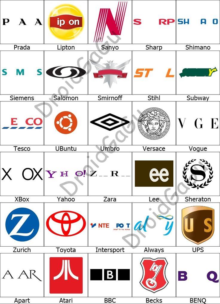Level 5 Logo Quiz Answers Bubble DroidGaGu Logo quiz