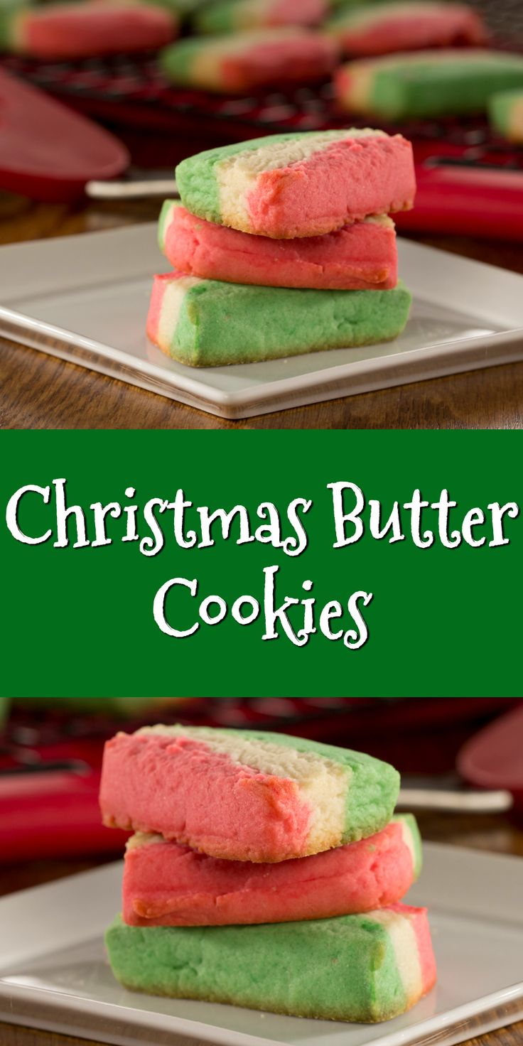 Our Christmas Butter Cookies are the perfect treat to box up and deliver to friends and family before the big day.