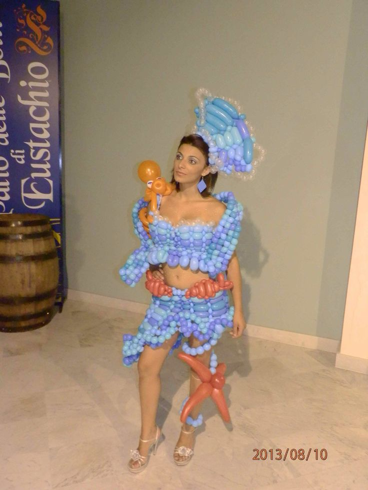 Balloon dress Under the Sea summer show