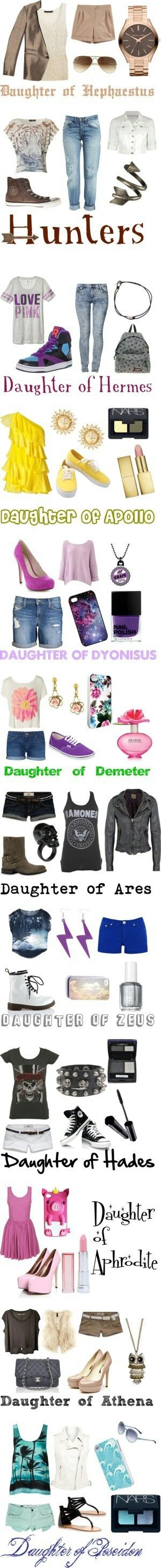 Percy Jackson- outfits