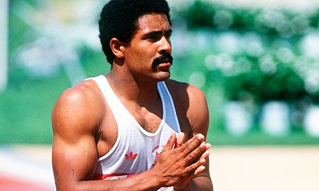 Daley Thompson won decathlon gold at the 1980 and 1984 Olympic Games.