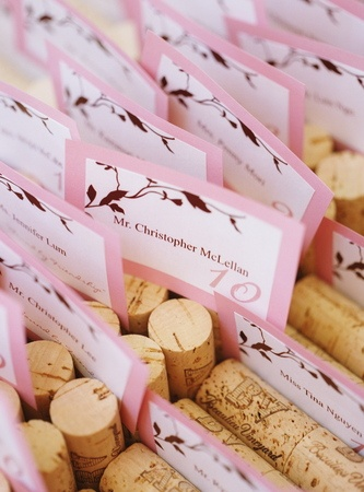 121 best cute place cards for weddings images on pinterest place cards pink weddings and a color