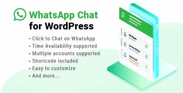 WhatsApp Chat WordPress wordpress Wordpress plugins