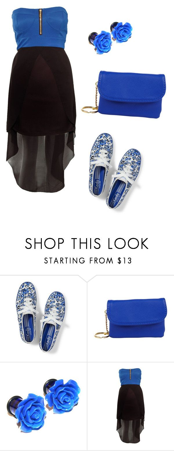 """Bez naslova #323"" by designer3103 ❤ liked on Polyvore featuring Keds, christopher. kon and Rare London"