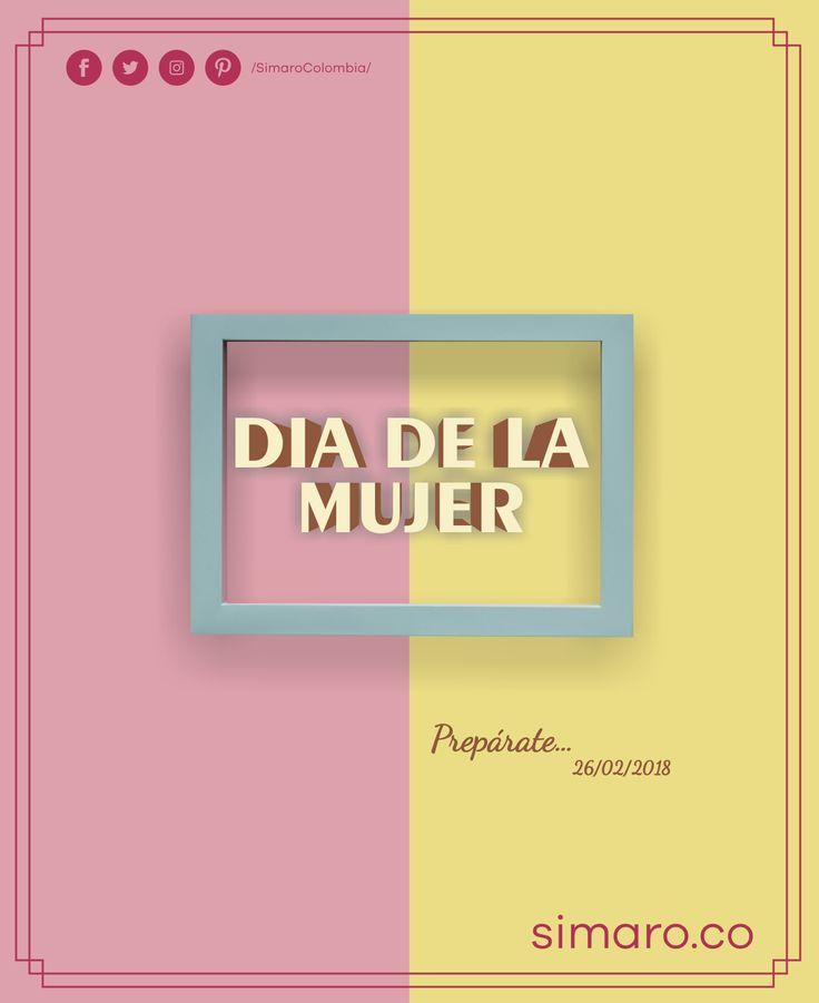Aparta esta fecha 26/02/2018 #SuperSale #WomensSaleSimaro 👉🏻 http://simaro.co/ @SimaroColombia #SimaroColombia #DiaDeLaMujer #8DeMarzo #March8th #WomensDay #EnvioGratis #SimaroCo 🇨🇴#LoEncontramosPorTi #SimaroBr 🇧🇷 #SimaroMx 🇲🇽 #TiendaOnline #ECommerce #Diversion #Novedades #Compras #Regalos #Descuentos
