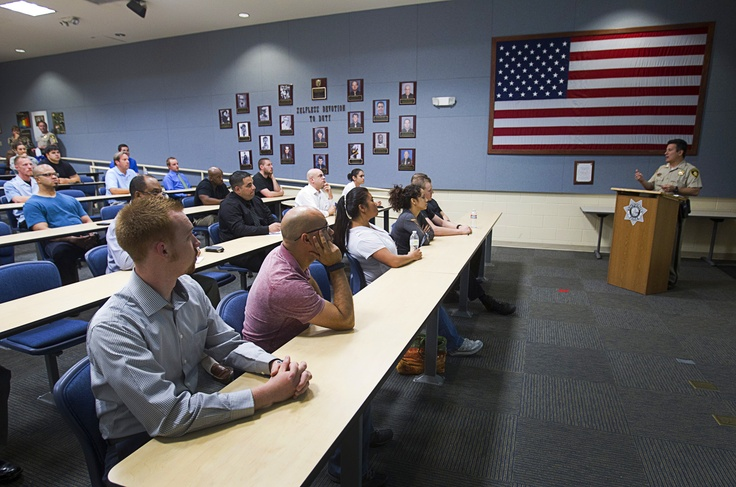 Metro Police to Restart Police Academy - Metro Police give a tour of their training facility in Las Vegas, Nevada Wednesday, June 19, 2013. With the recent passage of the