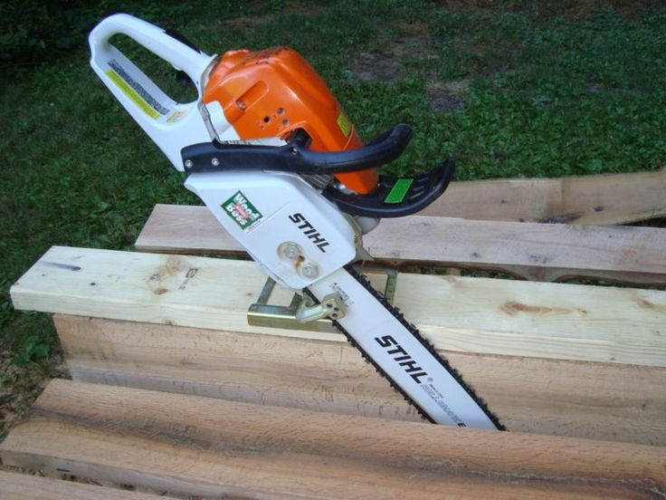 HADDON LUMBERMAKER CHAINSAW LUMBER MILL SAW GUIDE FOR BOARDS BEAMS PLANKS