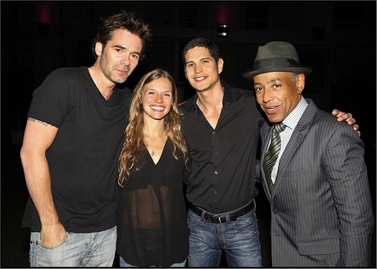images of the tv show revolution | NBC Revolution: NBC REVOLUTION cast at WB Party: Comic-Con 2012.
