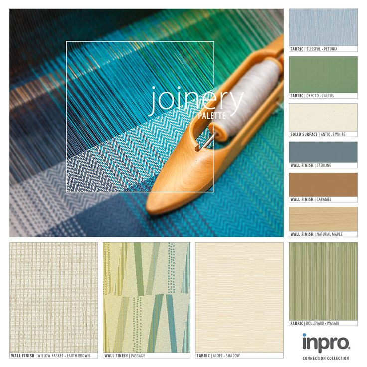 This Monthu0027s Featured Palette Is Joinery. Inspired By The Connection Formed  Through The Expression Of