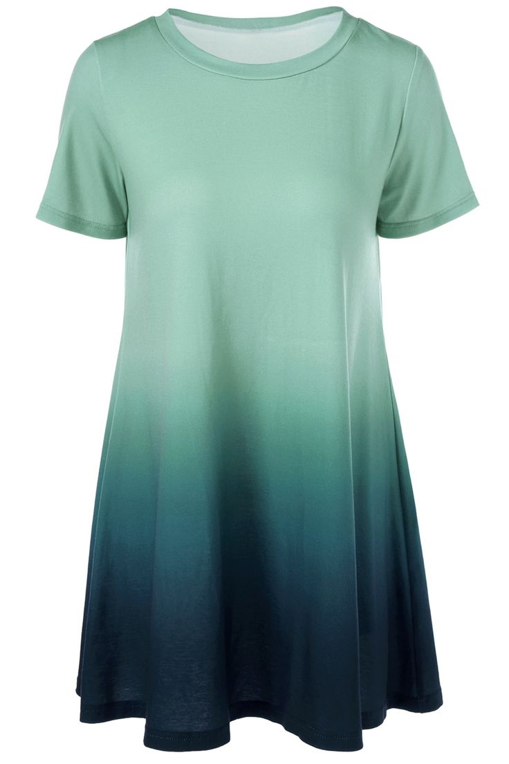 $15.58 Ombre T-Shirt Dress