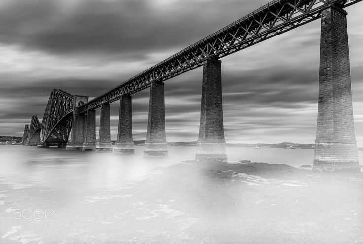 Forth Bridge - The Forth Bridge is a bridge over the Firth of Forth 9 miles west of Edinburgh. Itis a symbol of Scotland.