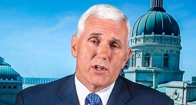Indiana Gov. Mike Pence Once Again Refuses To Answer Question On LGBT Protections