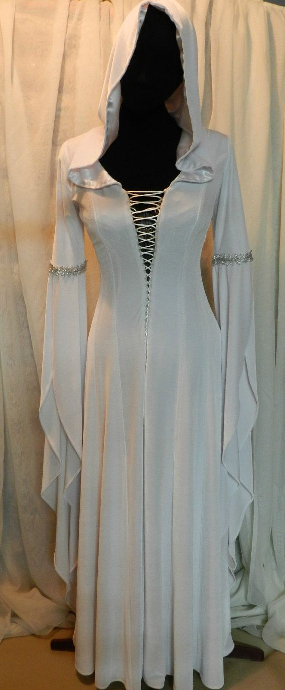 Legend of the Seeker Kahlan's white dress confessor replica custom made to your size!
