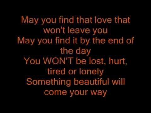 ▶ Robbie williams- something beautiful lyrics - YouTube