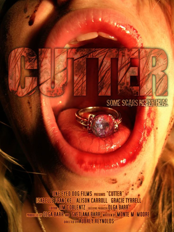 'Some scars never heal' Cutter is a 2017 British horror film directed by Aubrey Reynolds (short: Leashed) from a screenplay by Monte M. Moore (End of the Road). It is being produced by …