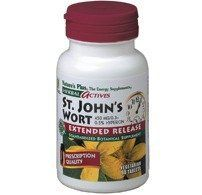St John's Wort Extract 450mg Time Release 60 Sustained Release Tablet Nature's Plus Herbal Actives St. John's Wort 450 mg extract is uniformly standardized to a minimum of 0.3%'0.5% (1.35 mg'2.25 mg) hypericin to guarantee that each and every tablet provides consistent... more details at http://supplements.occupationalhealthandsafetyprofessionals.com/herbal-supplements/st-johns-wort/product-review-for-natures-plus-st-johns-wort-extract-450mg-time-rele