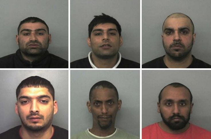 THIS GANG OF RAPISTS LOOK LIKE MUSLIMS: They Raped 370 Young Girls For Years (1997 and 2013) In The UK: But not a word about their 'Religion' in the reporting. Five of the seven convicted perpetrators were of Pakistani heritage. The victims were all white British girls. Prime Minister David Cameron Says Girls Suffered Abuse on an 'Industrial Scale'