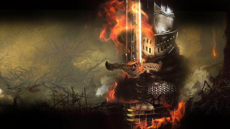 Fire Dark Souls Wallpaper