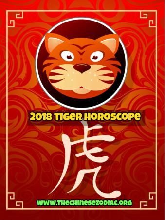 tiger horoscope and feng shui predictions 2018. Tiger year (1950, 1962, 1974, 1986, 1998, 2010, 2022) is the 3nd Chinese zodiac yea  #chinesehoroscope