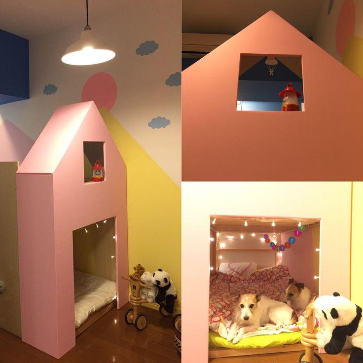 Elena's bed 夢みたいな子供部屋をつくってみた!