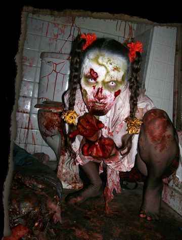 Best 20 haunted house decorations ideas on pinterest for Haunted woods ideas