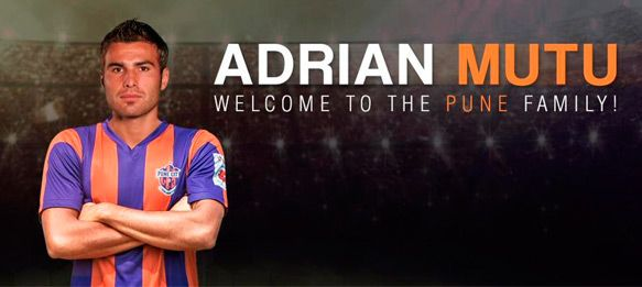 FC Pune City sign ex-Chelsea winger Adrian Mutu as marquee player